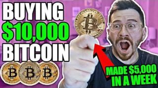 Buying $10,000 Worth of Bitcoin and Cryptocurrency! (NOT CLICKBAIT   $10,000 INVESTMENT EXPERIMENT)