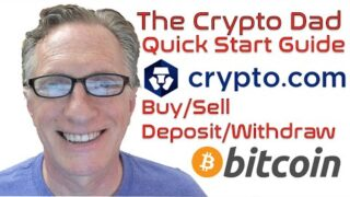 Crypto.com Quick Start Guide: How to Buy Sell Deposit Withdraw Bitcoin (BTC) & Other Cryptos