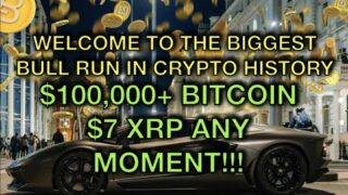 BIGGEST BULL RUN IN CRYPTO HISTORY IS HERE!!! XRP TO $7!!! BITCOIN TO $100K!!!