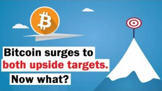 Bitcoin Surges to BOTH Upside Targets… Now What?