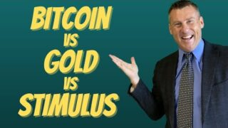 Bitcoin Vs Gold Vs Stimulus: Bitcoin Price Over $23,000 Gold Stimulus Package Wealth Distribution