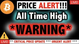 ** BITCOIN WARNING ** Dump is Coming?!! ⚠️Crypto TA Today & BTC $20K Cryptocurrency Price News Now
