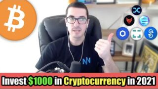 How I Would Invest $1000 in Cryptocurrency in 2021 [Top Altcoins] | Alex Saunders of Nuggets News