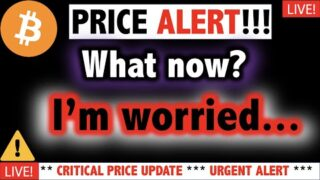THIS is BAD!!! BITCOIN BUBBLE ABOUT TO POP?!! ⚠️Crypto TA Today & BTC Cryptocurrency Price Dump News