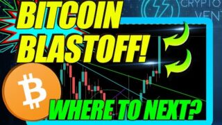 BITCOIN PRICE BLASTS OFF! THIS BTC CHART WILL SHOCK YOU!
