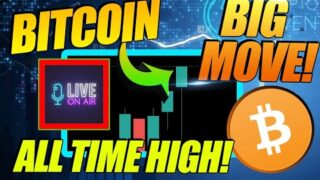 BITCOIN PRICE CHARGES BACK THROUGH $50k! MUST SEE LIVE!