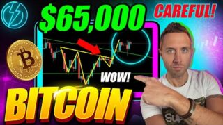 BITCOIN PRICE ALERT | $65,000 BREAKOUT! (BUT WAIT FOR THIS BTC MOVE!)