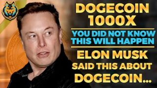 This Will Happen To Dogecoin NEXT! (You Did Not Know) Elon Musk… Dogecoin Price Prediction, Doge