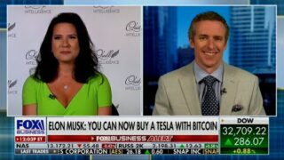 You can Now Buy a Tesla with Bitcoin, Elon Musk — DiMartino Booth with Cavuto via Fox Business