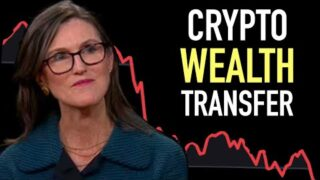 Cathie Wood: A Crypto Wealth Transferis Happening!