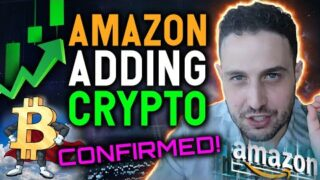 BITCOIN SURGES AS AMAZON RUMORS ARE CONFIRMED!! IS THE BOTTOM IN?