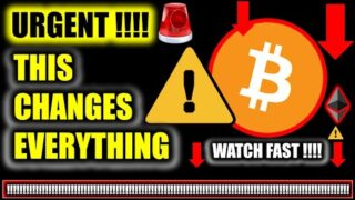 ⚠️ *UNREAL!!!!* THIS CHANGES EVERYTHING FOR BITCOIN!!!! ⚠️ Crypto Price Analysis TA & BTC News Today
